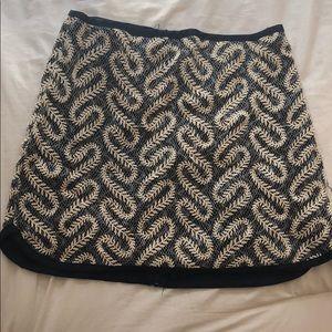 JOA Embroidered Skirt